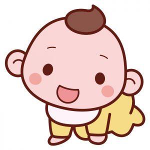 ハイハイ赤ちゃん