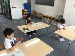 横浜教室夏期講習 馬
