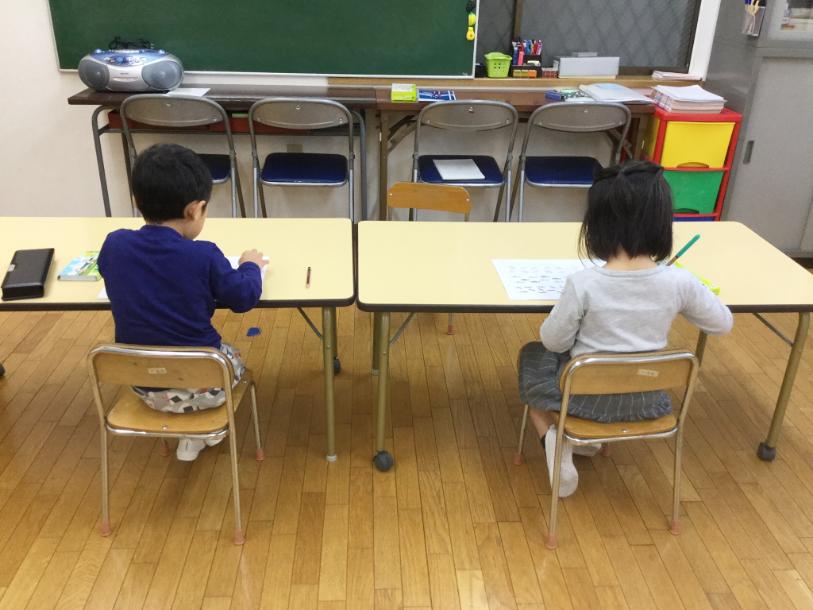 小学校受験コース(新年長クラス)11月スタート