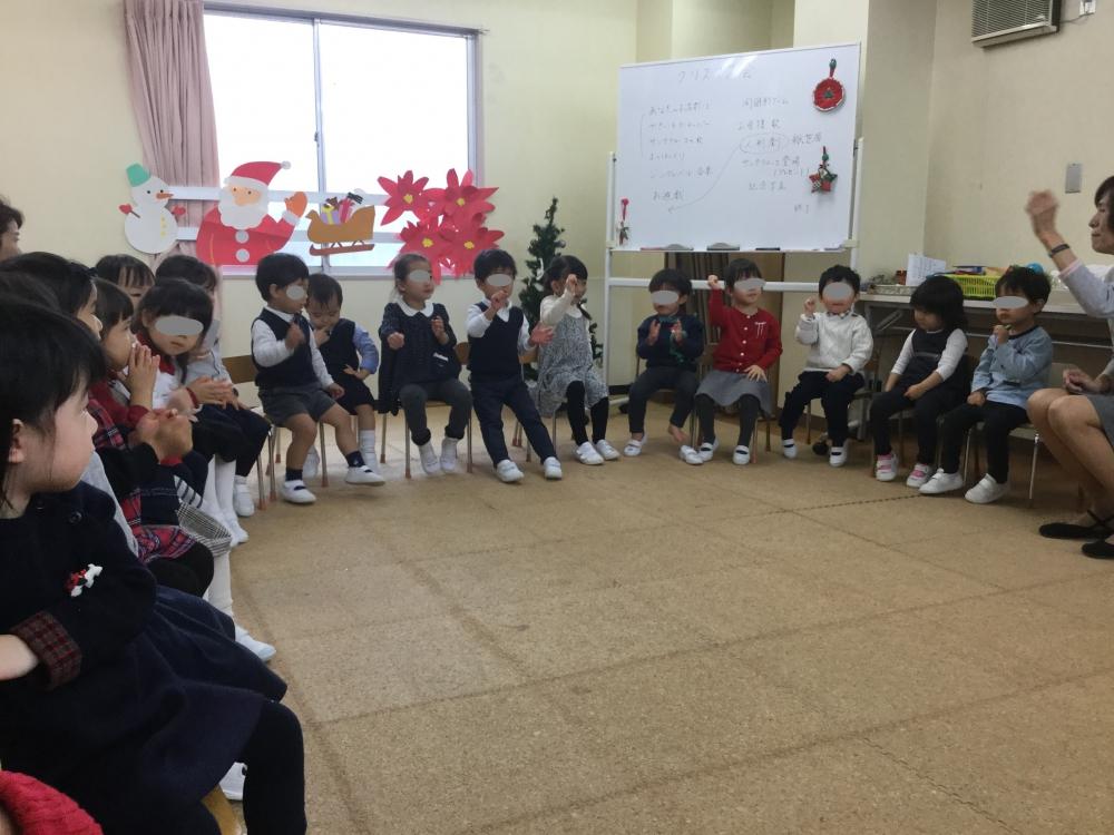 チャイルドクラブ(3保受験)~12月 クリスマス会より~ 12/19