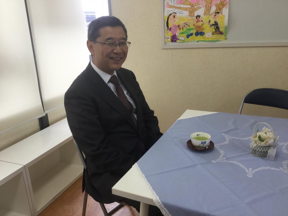 成城学園初等学校 校長 渡辺 共成 先生