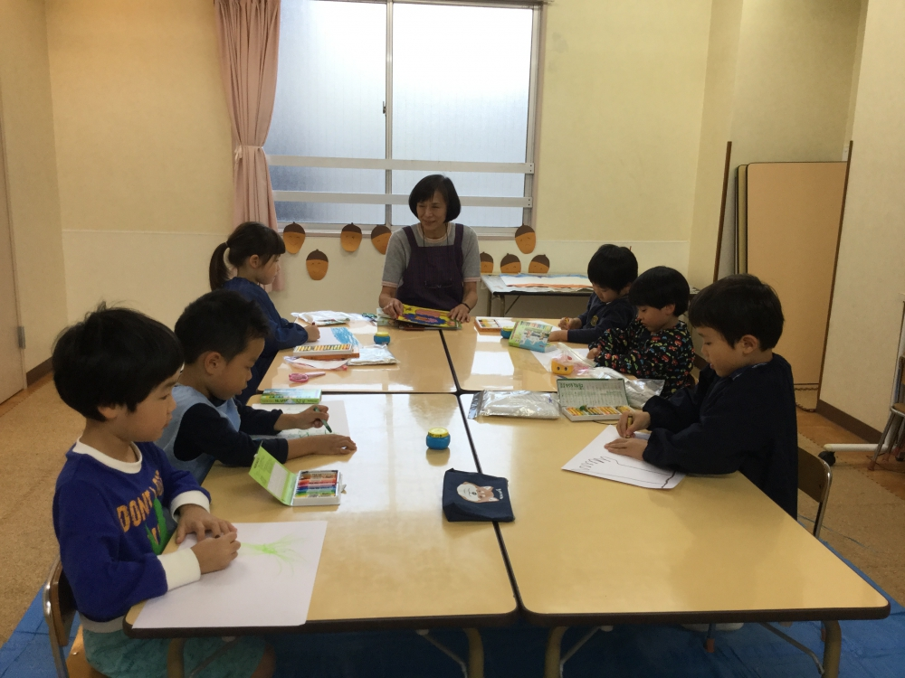 【年長児】絵画造形コース ~体験・入会受付中!~