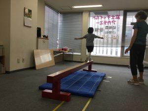 横浜教室 年中夏期講習 平均台