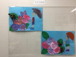 横浜教室絵画梅雨