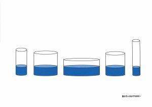 昭和小学校 入試対策 ペーパー 内容 数量 水量比較