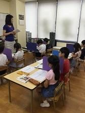 小学校受験夏期講習4日目終了