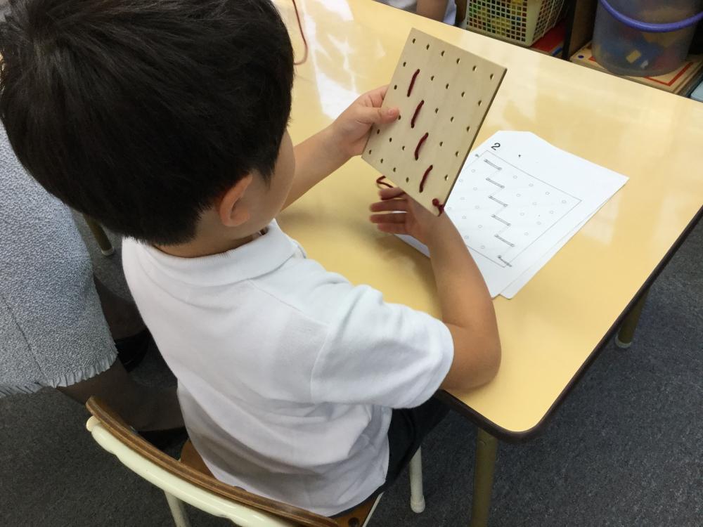 小学校受験夏期講習Ⅰ期4日目