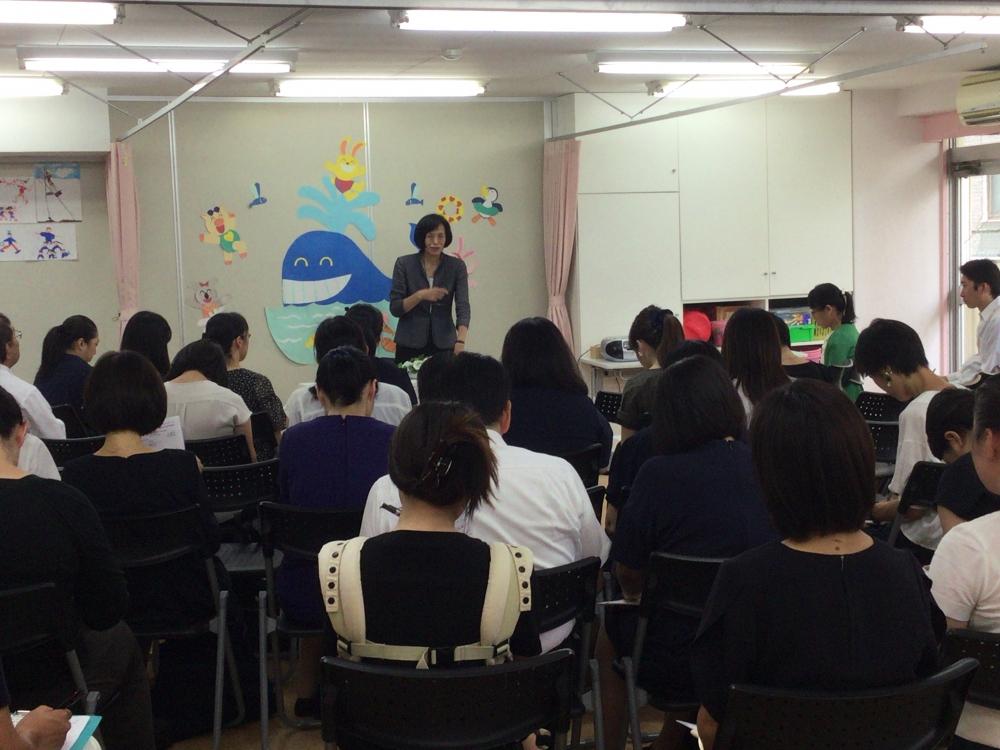 小学校受験夏期講習Ⅰ期セミナー