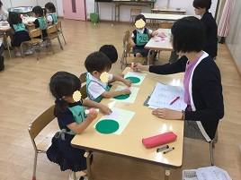 一番小さな受験生 ー幼稚園受験夏期講習ー