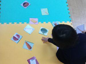 今週の英才年少前クラス 幼稚園小学校受験 仲間集めの学習 英才年少前(2~3歳)編