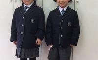 ピッカピカ1年生の制服姿